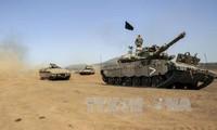 Israel melepaskan tembakan peringatan  terhadap satu pangkalan tentara Suriah