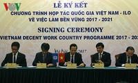 Vietnam dan ILO  menandatangani program kerjasama  nasional tentang  lapangan kerja yang berkesinambungan