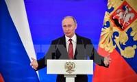 Presiden Rusia, Vladimir Putin menyatakan akan  mencalonkan diri dalam  pilpres Rusia pada tahun 2018