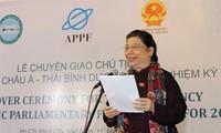 Sidang Panita Penyelennggara  Forum Parlemen Asia-Pasifik yang ke-26