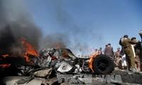 Kaum pembangkang Houthi menyatakan menembak jatuh pesawat terbang dari pasukan koalisi Arab