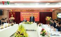 Presiden Vietnam, Tran Dai Quang mengadakan temu kerja dengan Asosiasi Ahli Hukum Vietnam