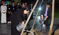 Wakil Harian Ketua MN Vietnam, Tong Thi Phong  melakukan kunjungan kerja di Provinsi Dien Bien