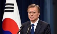 Olimpiade  Pyeong Chang 2018: Presiden Repubulik Korea membuka kemungkinan bertemu dengan Kepala rombongan RDRK