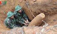 Membentuk Badan harian Badan Pengarahan Nasional  tentang usaha mengatasi akibat bom dan ranjau