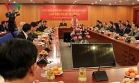 Ketua MN Vietnam, Nguyen Thi Kim Ngan mengadakan temu kerja dengan  Kementerian Keuangan Vietnam