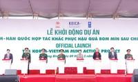 Vietnam dan Republik Korea  bekerjasama mengatasi akibat bom dan ranjau pasca perang