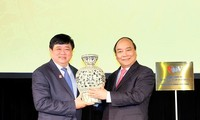 PM Vietnam, Nguyen Xua Phuc  menghadiri upacara peresmian Kantor Tetap VOV di Australia
