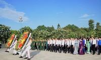 Aktivitas-aktivitas  yang bermakna   memperingati ultah ke-43 Hari pembebasan total Vietnam Selatan dan penyatuan Tanah Air  serta Hari Buruh Internasional  (1/5)