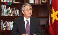 Vietnam dan AS aktif mendorong perkembangan hubungan antara dua negara