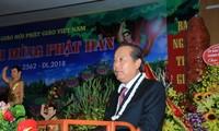 Viet Nam  konsisten melaksanakan  kebijakan menghormati  dan menjamin kebebasan berkeyakinan dan beragama dari warga negara