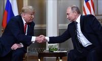 Presiden AS membela upayanya  dalam  menggalang hubungan dengan Presiden Rusia