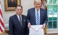 Pemimpin RDRK, Kim Jong-un mengirim lagi surat kepada Presiden AS, Donald Trump