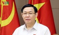 Deputi PM Vuong Dinh Hue: Dana Perkembangan Badan Usaha  Kecil dan Menengah akan membantu Start-up