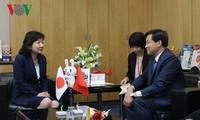 Kepala Inspektorat Pemerintah Le Minh Khai melakukan kunjungan kerja di Jepang
