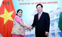 Pembukaan Sidang ke-16 Komite Gabungan Viet Nam-India