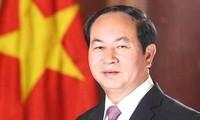 Presiden Viet Nam, Tran Dai Quang mengirim surat selamat kepada Majelis Umum AIPA-39
