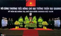 Upacara melayat  Presiden Viet Nam, Tran Dai Quang