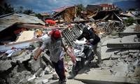 IMF  mengumpulkan dana  untuk memberikan  bantuan kepada para korban gempa dan tsunami di Indonesia