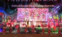 Pembukan Festival  Bunga Gandum Kuda-2018 di Daerah Dataran Tinggi  Karsta Dong Van