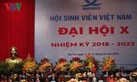 Pembukaan   Kongres Nasional  ke-10 Asosiasi Mahasiswa Viet Nam