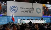 Melanjutkan upaya-upaya menanggulangi perubahan iklim