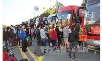 Organisasi Serikat Buruh   dengan aktivitas-aktivitas  memikirkan Hari Raya Tet untuk kaum pekerja