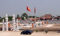 Kuil memuja Khuc Thua Du-Situs peninggalan sejarah nasional di daerah Ninh Giang