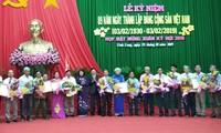 Wapres Dang Thi Ngoc Thinh menghadiri upacara peringatan HUT ke-89 berdirinya PKV di Provinsi Vinh Long