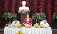Ketua MN Viet Nam, Nguyen Thi Kim Ngan mengadakan temu kerja di Provinsi Binh Thuan
