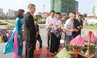 Menyatakan terima kasih kepada para martir  Viet Nam di wilayah Kamboja