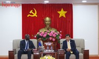 Bank Dunia mengadakan temu kerja dengan Provinsi Binh Duong  tentang kerjasama investasi pada infrastruktur