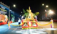 Aktivitas-aktivitas  pada upacara hari haul cikal bakal Bangsa Raja Hung: Pesta  Kuil memuja Raja Hung-2019.