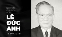 Pemimpin negara-negara mengirm tilgram belasungkawa kepada pemimpin Partai, Negara, Pemerintah, MN dan rakyat Viet Nam dan keluarga  mantan Presiden Negara RSV,  Le Duc Anh