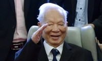 Tilgram belasungkawa  kepada pimpinan Partai, Negara, Pemerintah, rakyat Viet Nam dan keluarga mantan Presiden, Jenderal Le Duc Anh