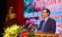 Deputi PM Vietnam, Vuond Dinh Hue  menghadiri  Forum produksi dan pemasaran buah kelengkeng Bac Giang