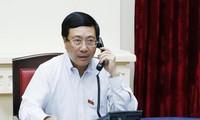 Viet Nam-Singapura mengadakan pembicaraan telepon tentang pernyataan PM Lee Hsien Long