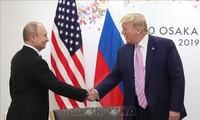 Presiden AS meminta untuk mendorong dialog dengan Rusia