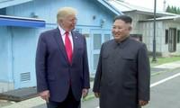 Presiden Donald Trump menyatakan telah mencapai prospek dalam masalah RDRK