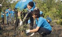 Liga Pemuda Komunis Ho Chi Minh melindungi lingkungan dan menghadapi perubahan iklim