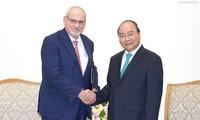 PM Nguyen Xuan Phuc menerima Direktur Jenderal Eksekutif IFC merangkap Wakil Presiden  Kelompok WB, Philippe Le Houérou