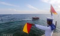 Komunitas internasional perlu memberikan reaksi keras dalam menghadapi eskalasi tindakan ketegangan Tiongkok di Laut Timur