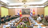 Dialog Kebijakan Pertahanan Viet Nam-Kuba kali ke-3