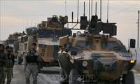Pangkalan militer AS telah ditembak oleh meriam tentara Turki.