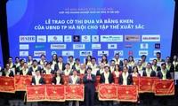 Memuliakan kira-kira 200 badan usaha Ibukota Ha Noi pada program Malam Badan Usaha tahun 2019