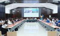 Para wartawan muda dan pemuda memainkan peranan penting dalam mendorong persahabatan antara Vietnam-Kamboja