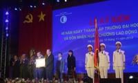 Mendorong Cepat  Proses  Membawa  Sekolah Tinggi Ilmu Hukum Hanoi Menjadi Sekolah Titik Berat dalam Mendidik Ahli tentang Hukum
