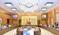 Ketua MN Vietnam, Nguyen Thi Kim Ngan memimpin sidang yang pertama  Badan Pengarahan Nasional, Panitia Penyelenggaraan  AIPA 41