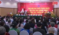 Kongres Nasional ke-6 Seni-Sastra Etnis-Etnis Minoritas Vietnam berseru supaya  bersatu dan berupaya  mengatasi kesulitan dalam berkreasi