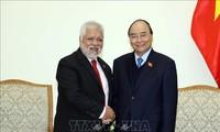 PM Vietnam, Nguyen Xuan Phuc menerima Dubes Venezuela, Jorge Rondon Uzcategui